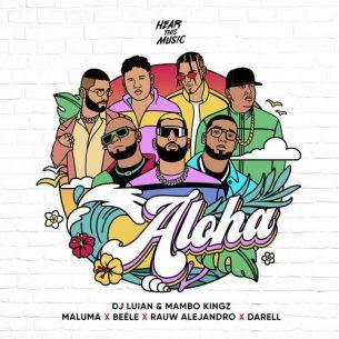 Maluma Rauw Alejandro Darell Aloha
