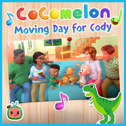 Cocomelon Moving Day for Cody