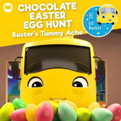 Little Baby Bum Nursery Rhyme Friends Go Buster Chocolate Easter Egg Hunt