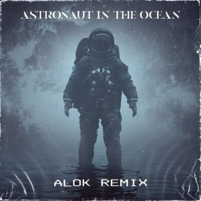 Masked Wolf Astronaut In The Ocean